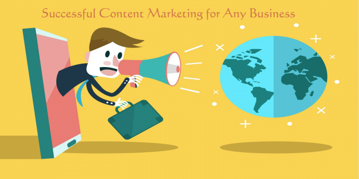 How to be More Successful via Content Marketing for Any Business