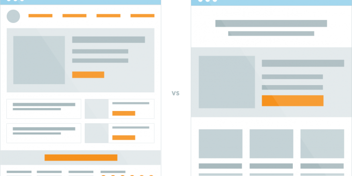 Home Page v/s Landing Page Where to Drive Traffic for Higher Conversions