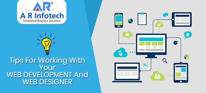 Tips for working with your web Development & web Designer - A R INFOTECH