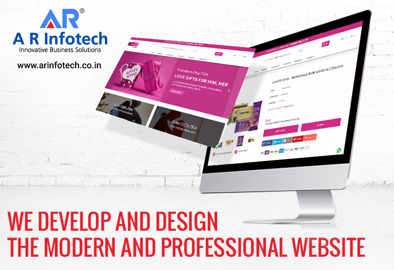 Best web design company in Jaipur - A R Infotech