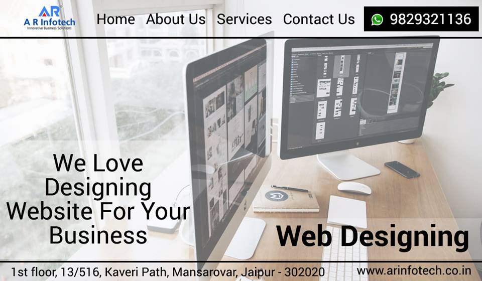 best web design company in Jaipur-A R Infotech