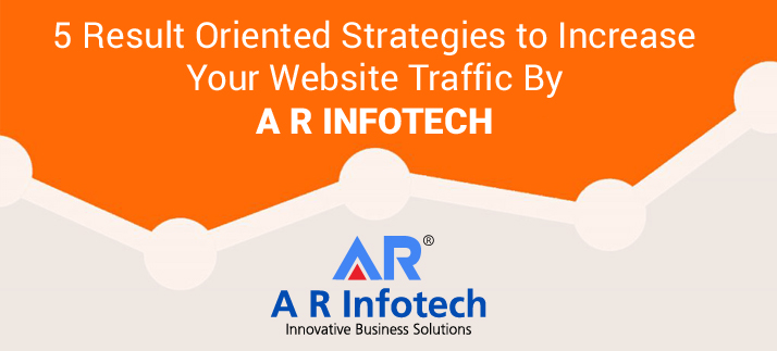 5 Result Oriented SEO Strategies to Increase Website Traffic by A R Infotech