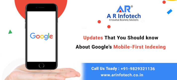 Updates that you should Know about Google's Mobile-First Indexing
