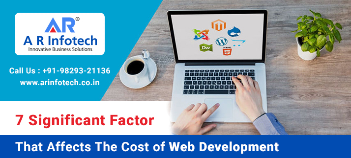 7 Significant Factor That Affects The Cost Of Web Development-A R Infotech